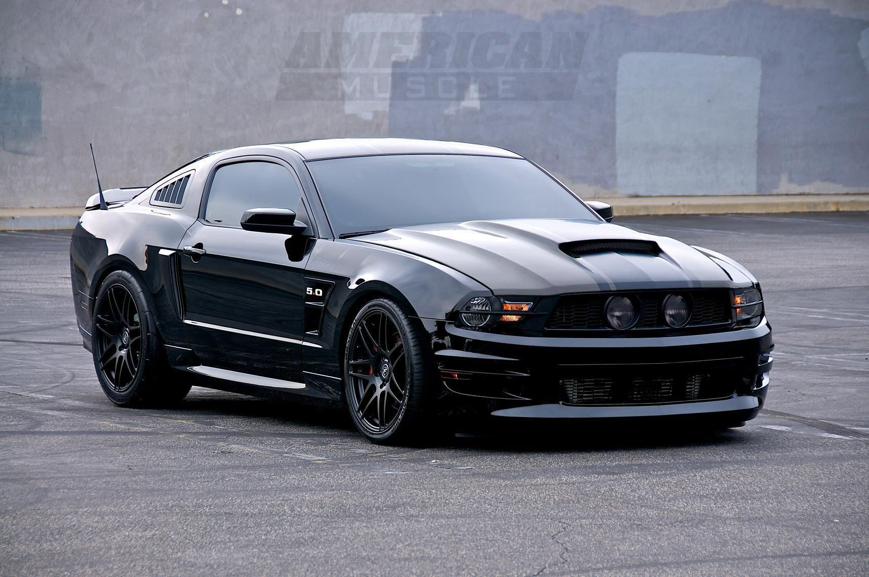 Ford Mustang Nice Clean Black Www Musclecarfuturefortune Com