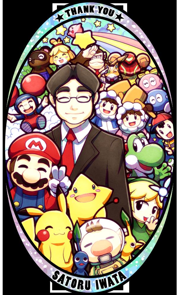 To Mr Iwata by Quas-quas.deviantart.com on @DeviantArt