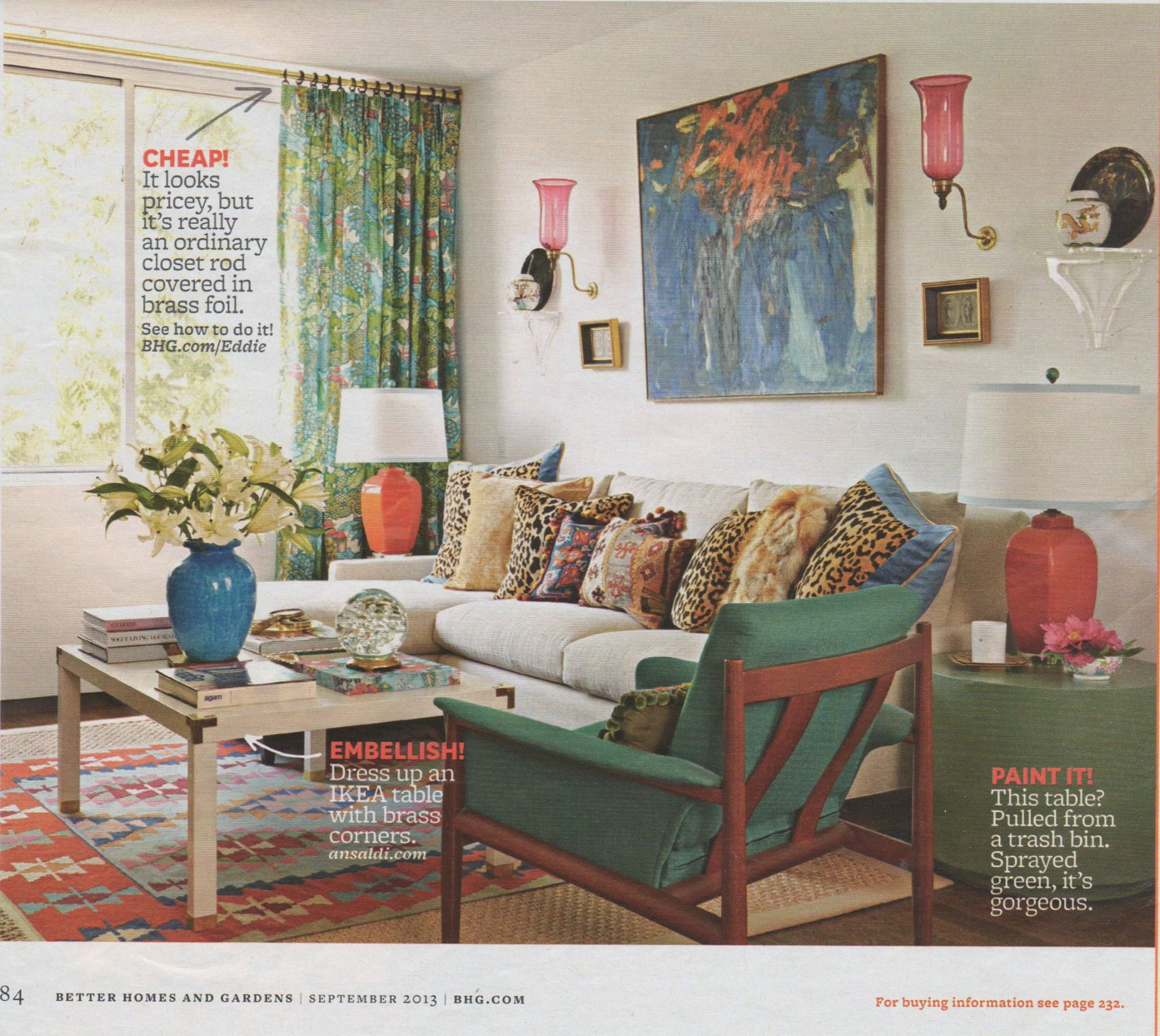 2013 Traditional Living Room Decorating Ideas From Bhg: Eddie Ross Living Room BHG 9/2013