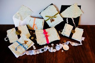 Simply Designing with Ashley: Fancy Homemade Stationary Sets - Perfect Holiday Gifts!