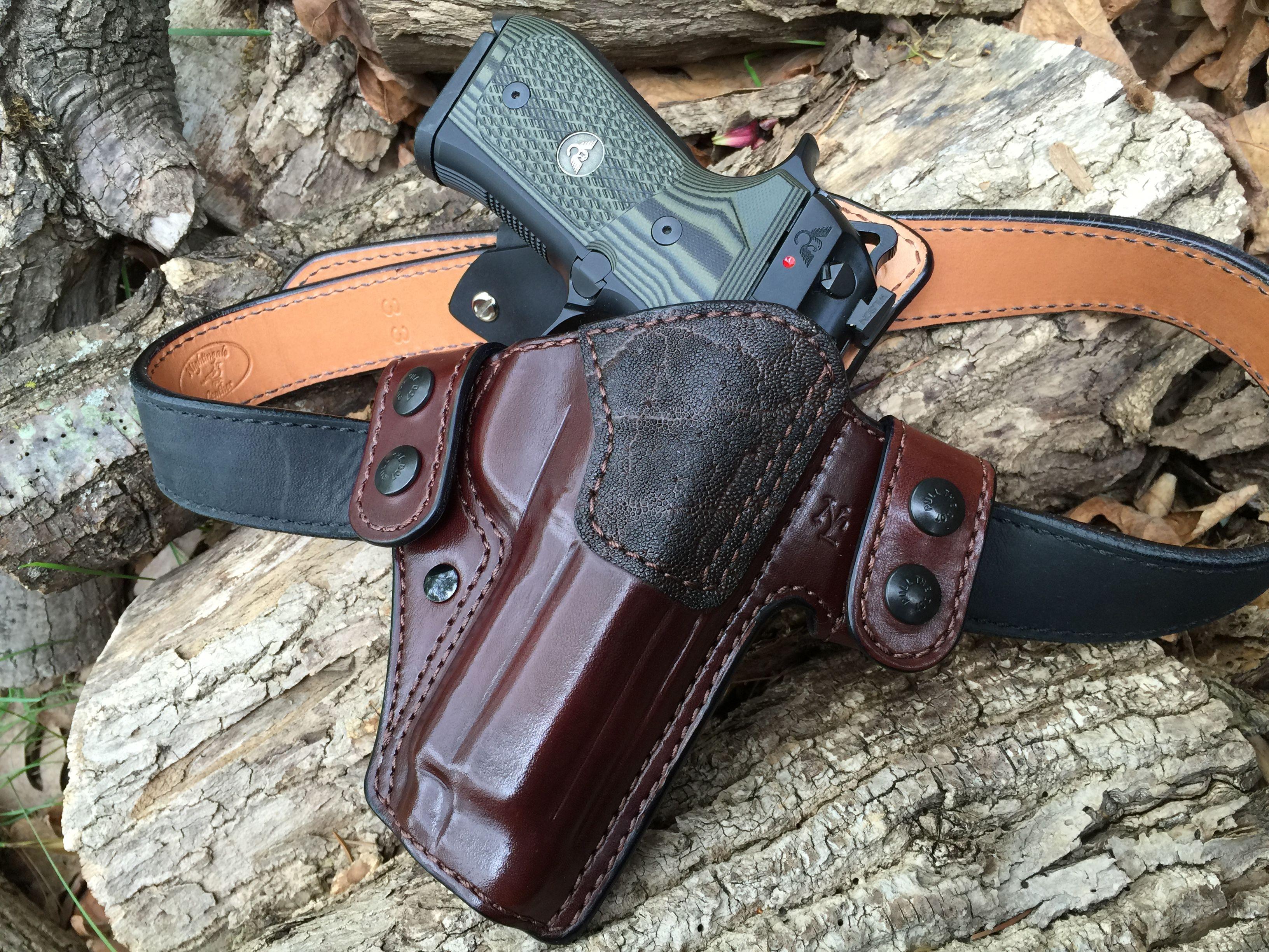 Nightingale Leather Wilson Combat/Beretta Brigadier Tactical Griffon ...
