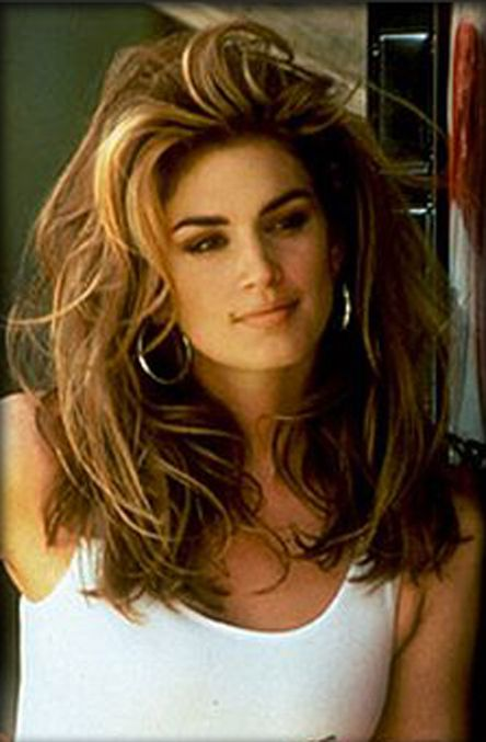 Cindy Crawford Hairstyles April 2017