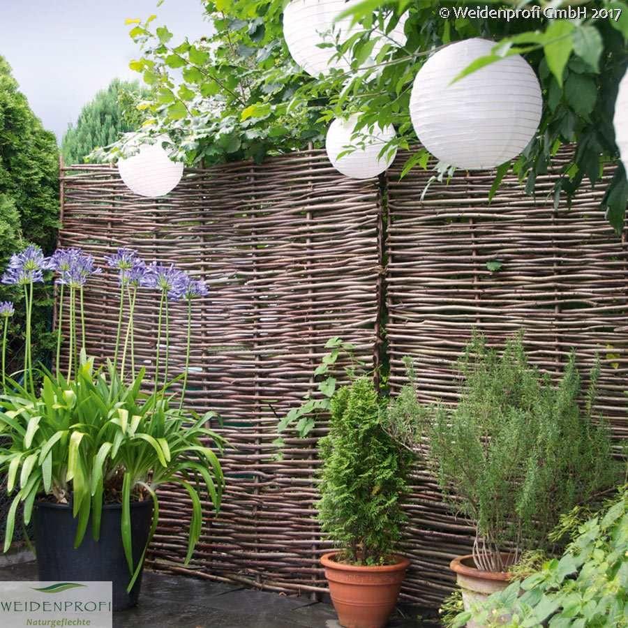 Weidenzaun Weidenzaune Gunstig Online Kaufen Vertical Garden