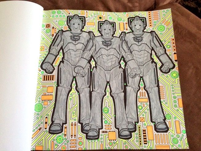 Doctor Who Colouring Book | Dr who colouring | Pinterest | Coloring ...