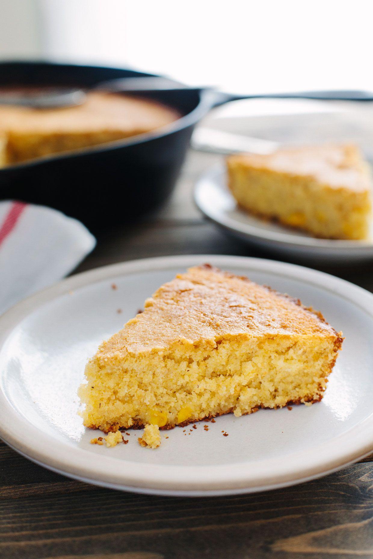 Gluten Free Buttermilk Skillet Cornbread Recipe Food Cornbread Foods With Gluten