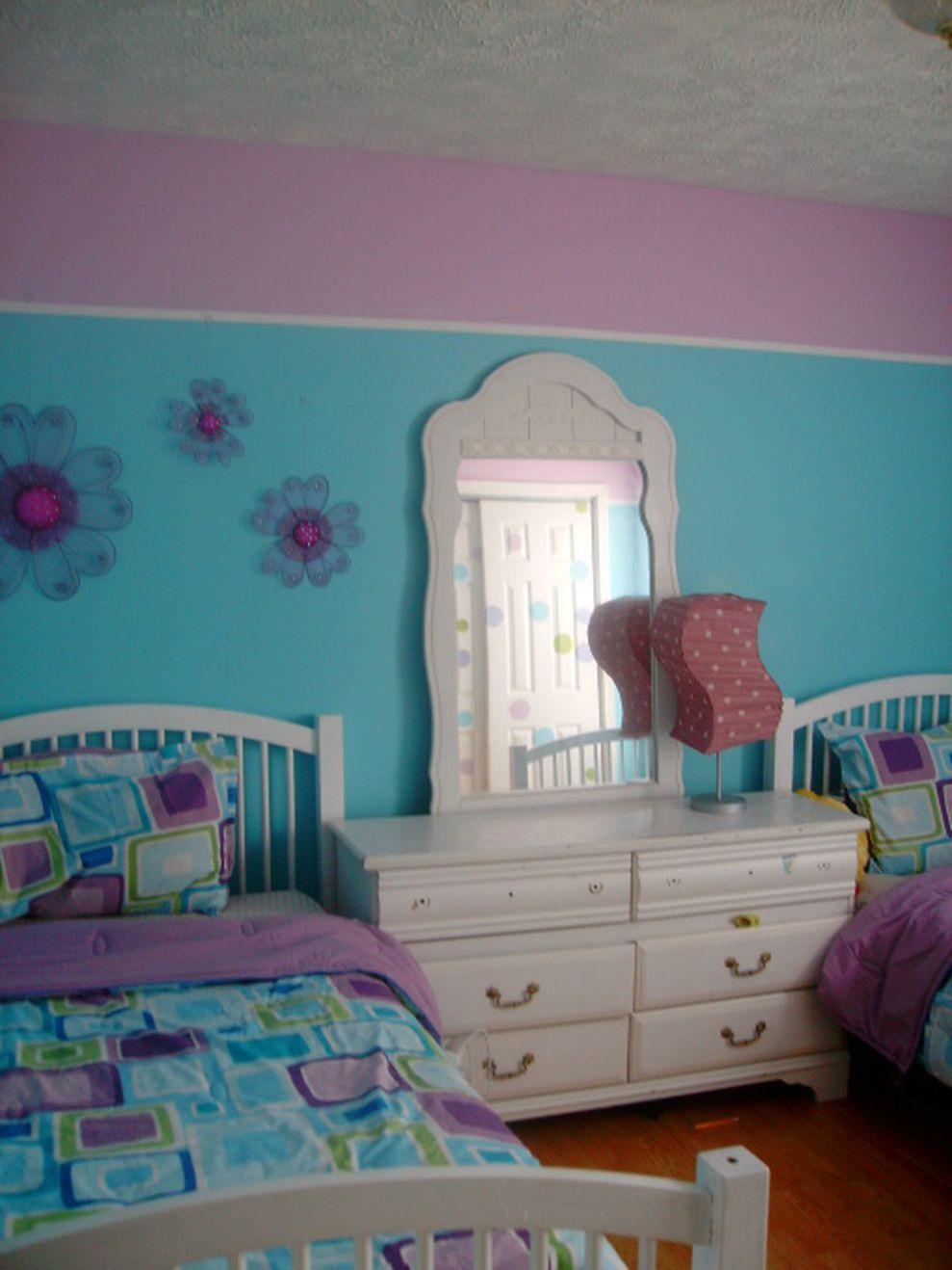 80 Cute Bedroom Design Ideas Pink Green Walls Home Decor Girls Turquoise Tween Girl Room