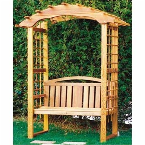 Bench Arbor Plan -   18 diy bench plans