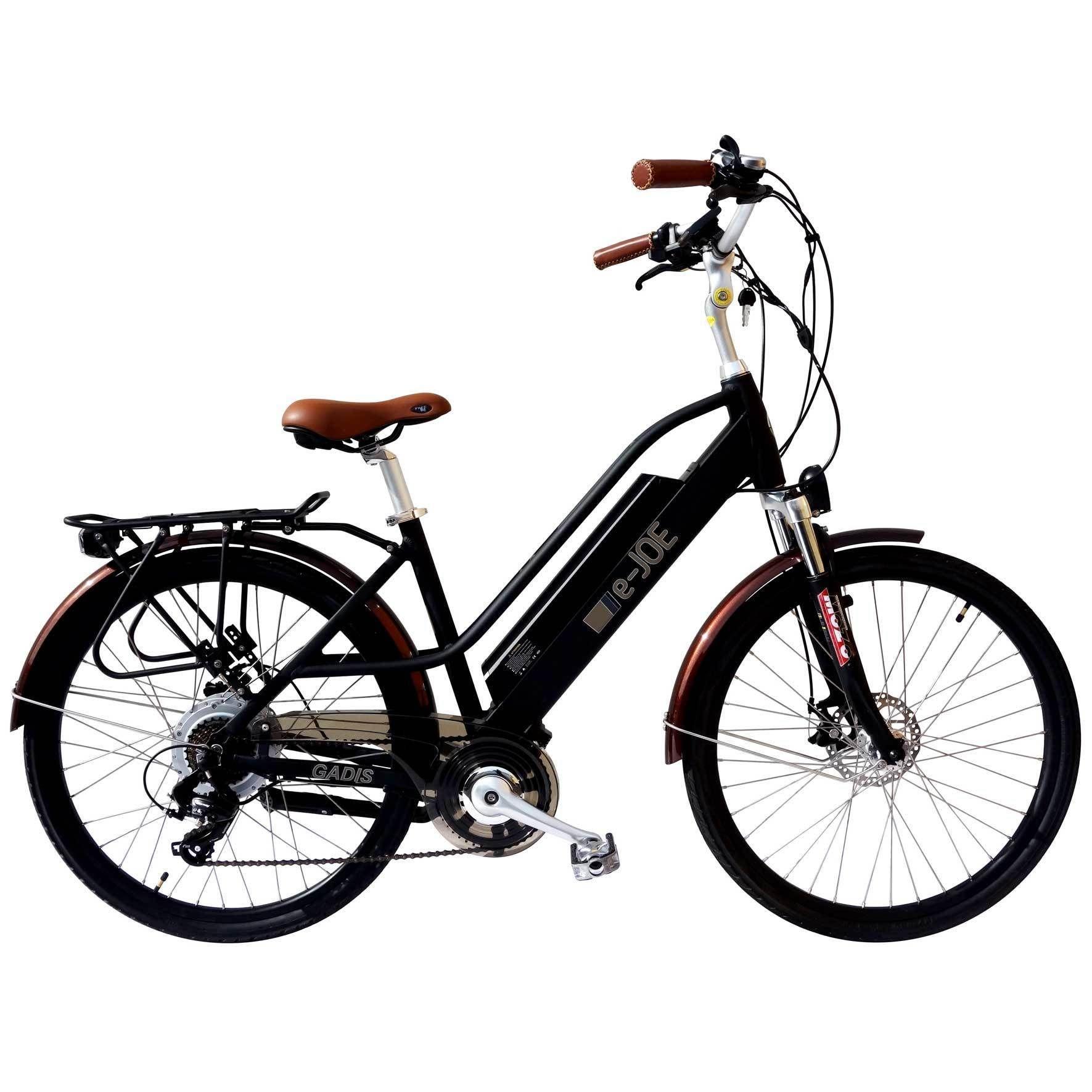 EJoe Gadis 48V 500W StepThrough Electric Bike Beach