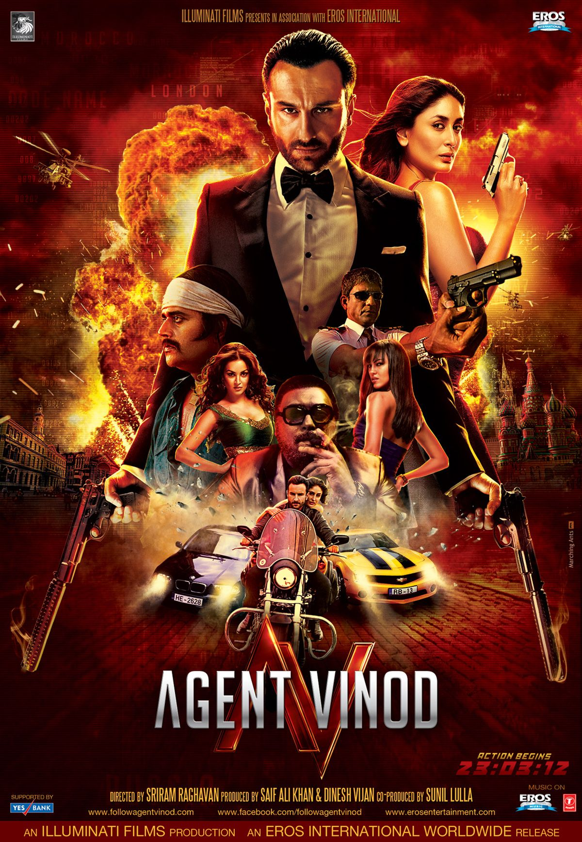 Agent Vinod Again 2012 Movie Full Movies Online Free Indian Movies