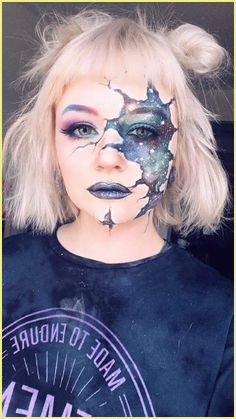 Halloween Make Up Selber Machen Leicht #halloweenmake in ...