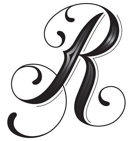 letters alphabet letters fancy letters drop cap letters printable