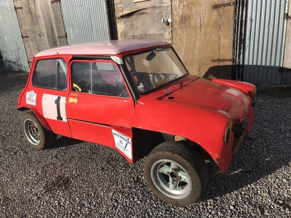 eBay Classic Mini Mk1 Rally Cross Hill Climb