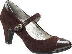 A nod to Downton Abbey Shoes Aetrex - Essence Taylor Mary Jane Pump $149.95 Buy at: Shoebuy.com