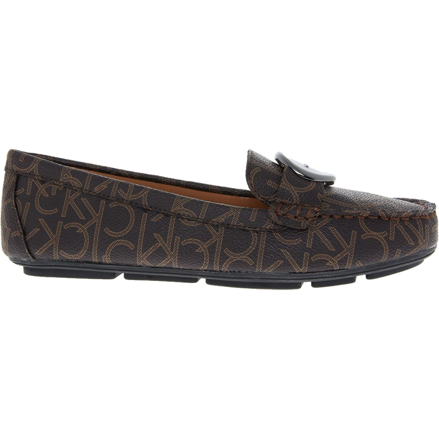 new authentic the latest finest selection Brown Branded Logo Loafers - Women's Early Access - Event Category ...