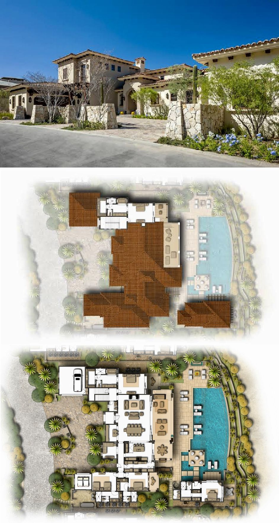 Estate 17 Espiritu Del Mar Palmilla Los Cabos Mexico Beach House Plans Mansion Floor Plan Mansion Plans