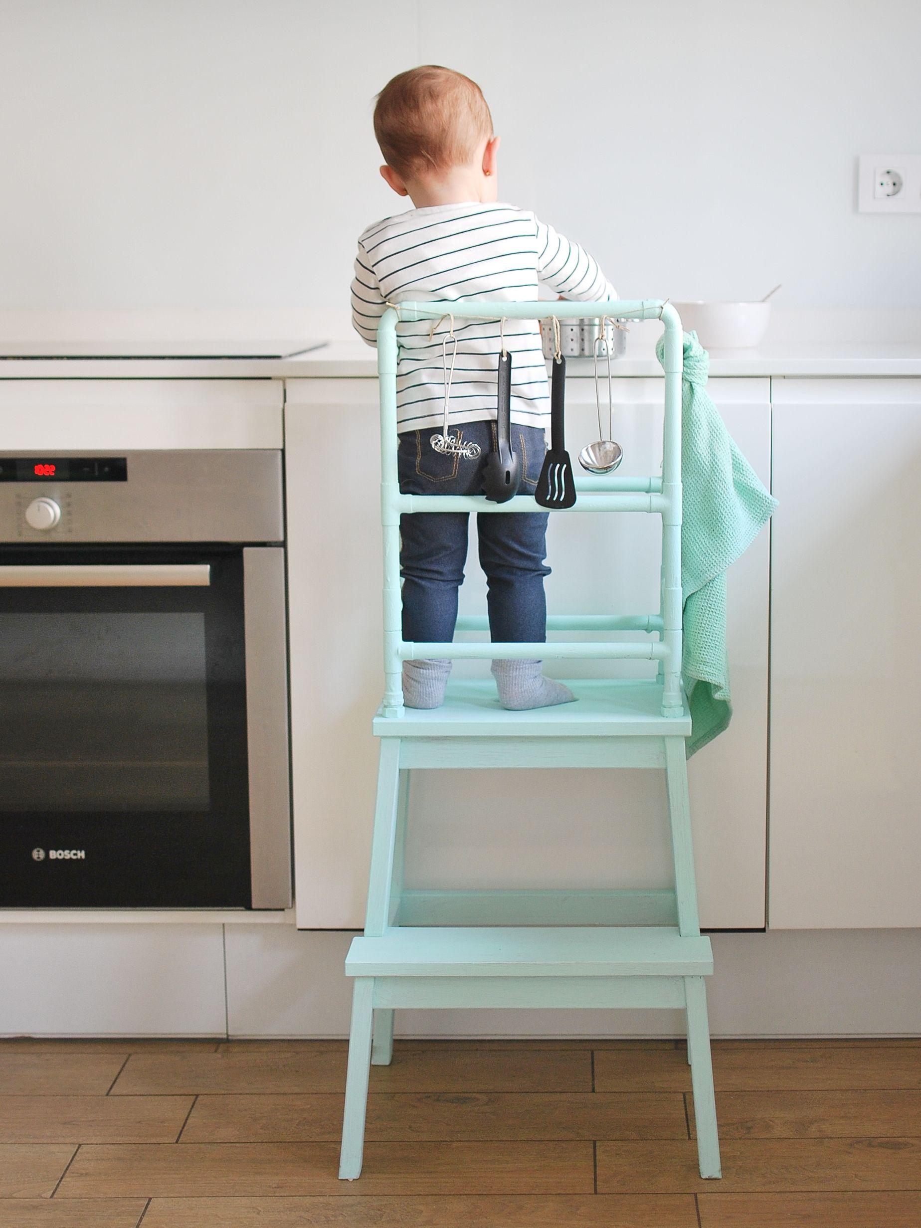 Torre de aprendizaje DIY: ideas Montessori | Montessori | Pinterest ...