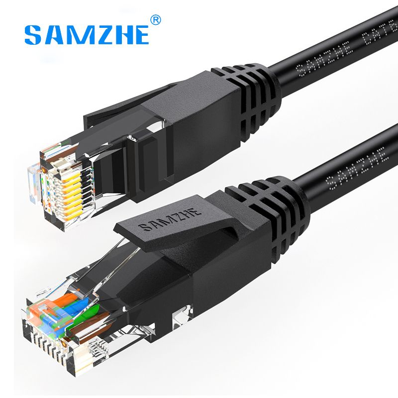 samzhe ethernet kabel cat6 lan kabel rj45 voor ps4 xbox pc router laptop 1 m 1 5 m 2 m 3 m 5 m 8. Black Bedroom Furniture Sets. Home Design Ideas