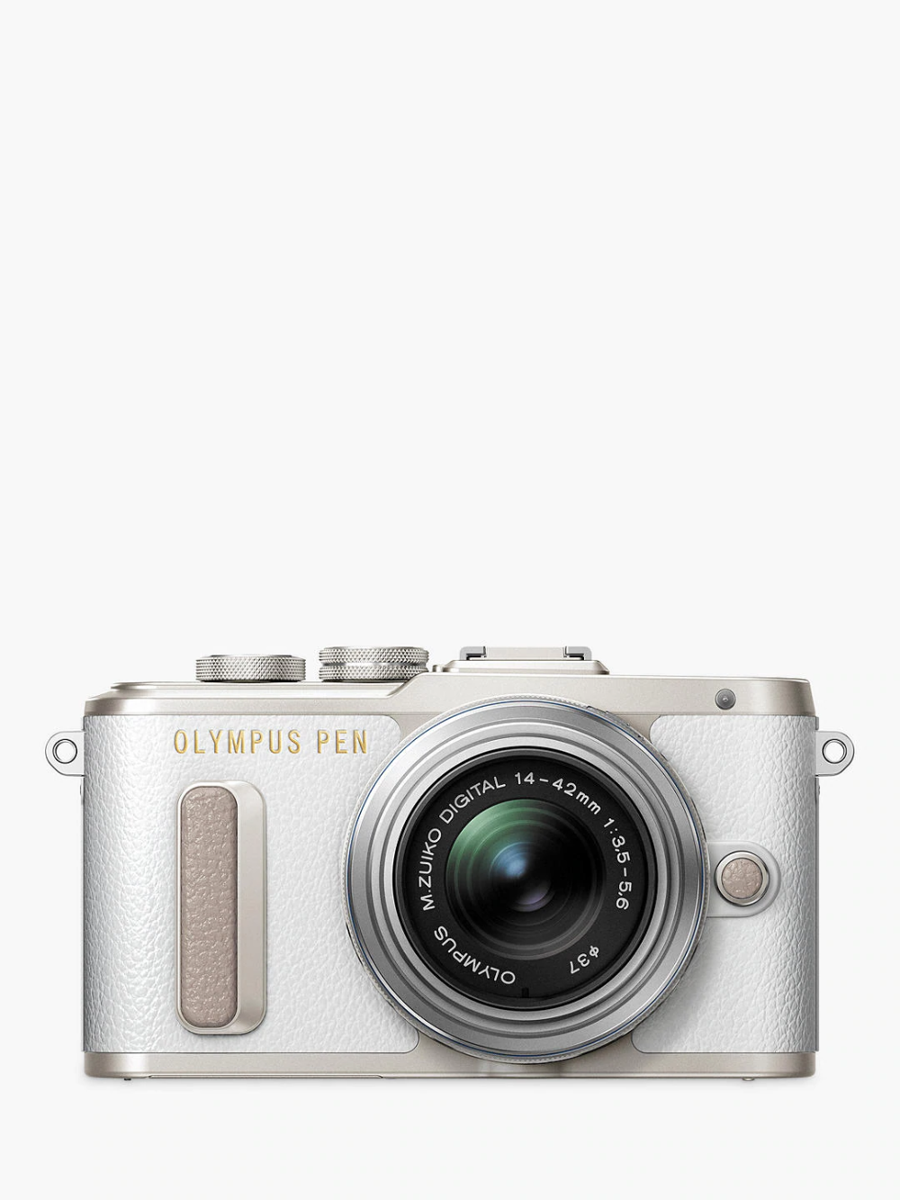 Olympus Pen E Pl8 Compact System Camera With 14 42mm Ii R Lens Hd 1080p 16 1mp Wi Fi 3 System Camera Olympus Pen Camera
