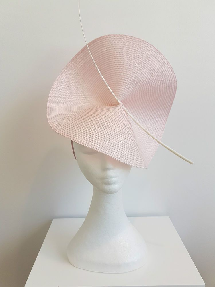 Miss Moneypenny womens fascinator Pastel pink a79678e3286