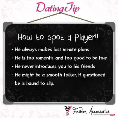 how to spot a player