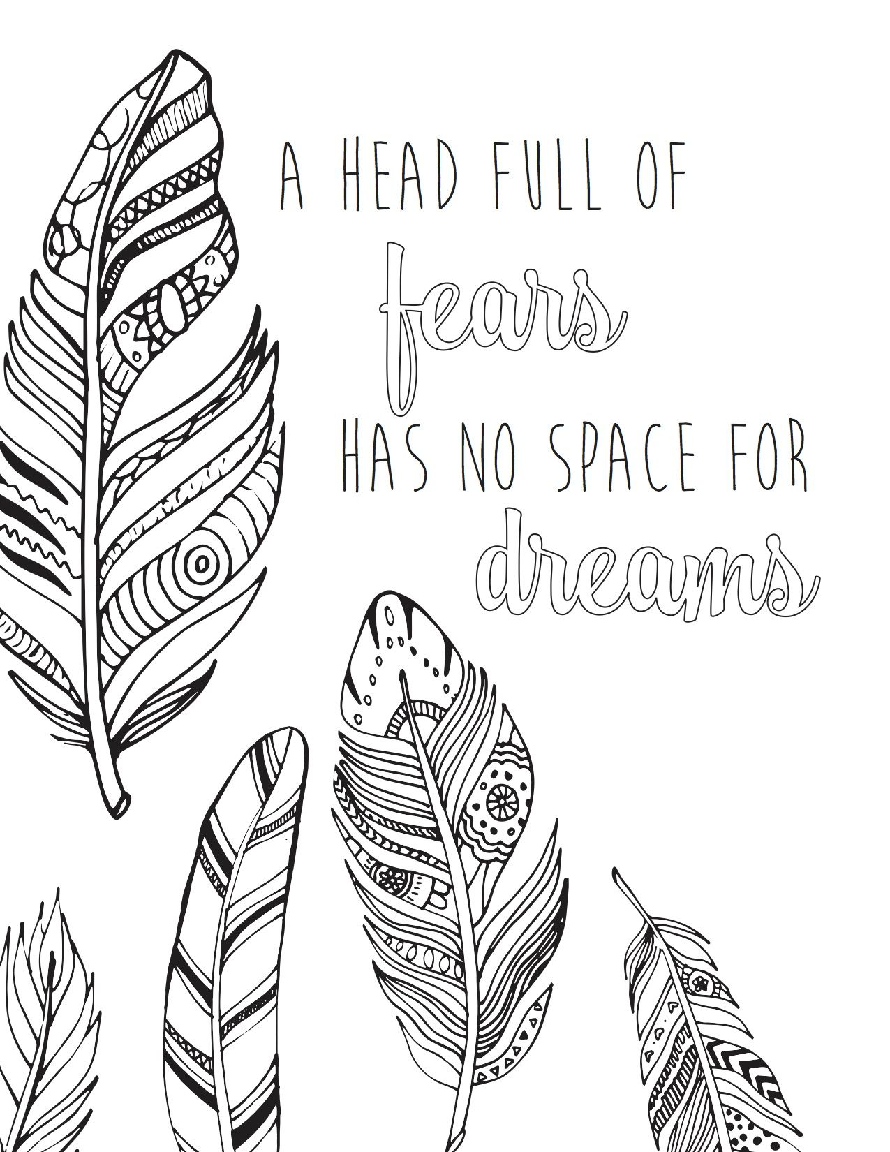 FREE Printable Coloring Page 13 from bloom daily planners