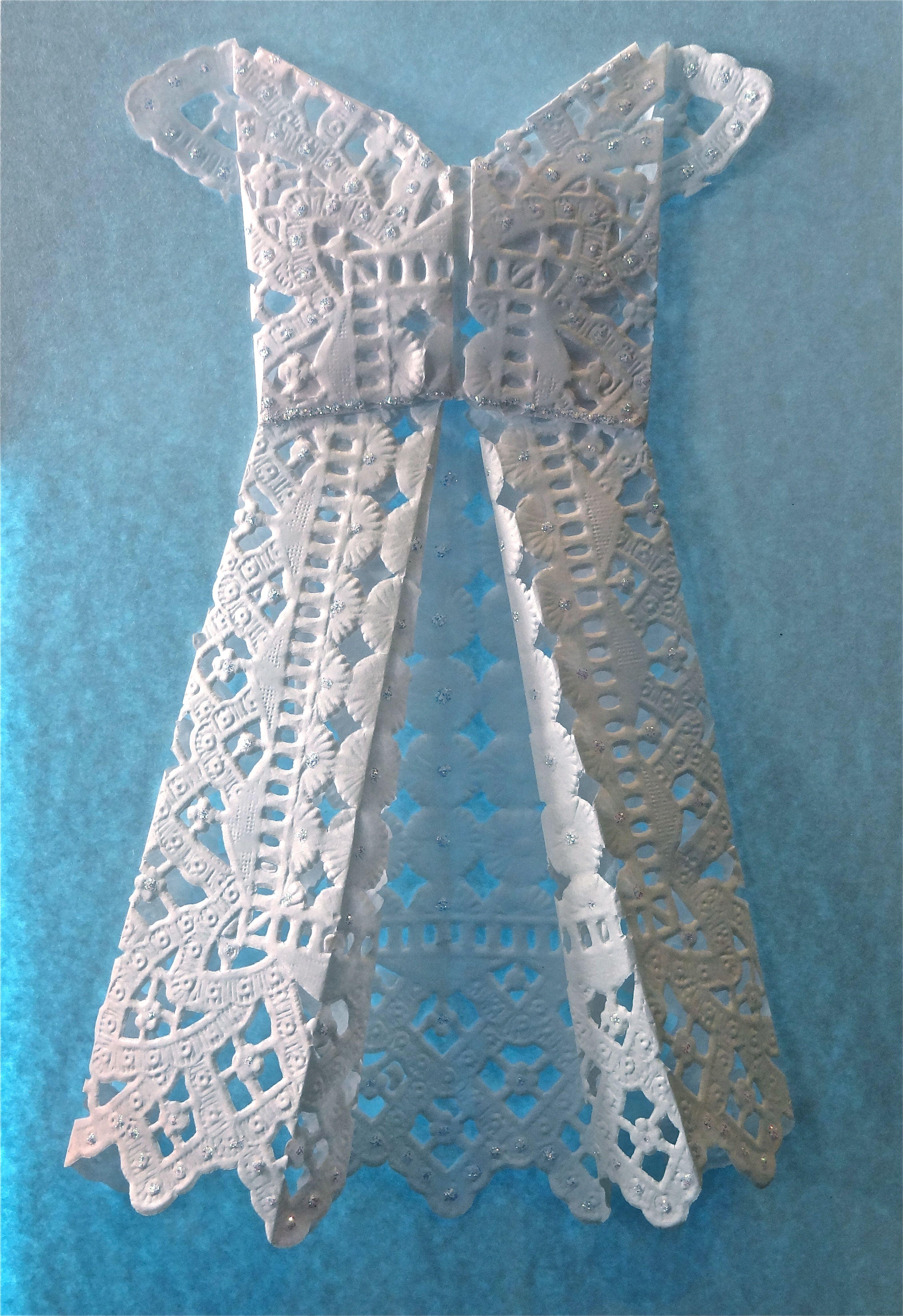origami dress - Pesquisa Google
