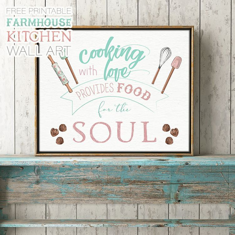 free printable farmhouse kitchen wall art the cottage market kitchen wall art printables on farmhouse kitchen quotes free printable id=67565