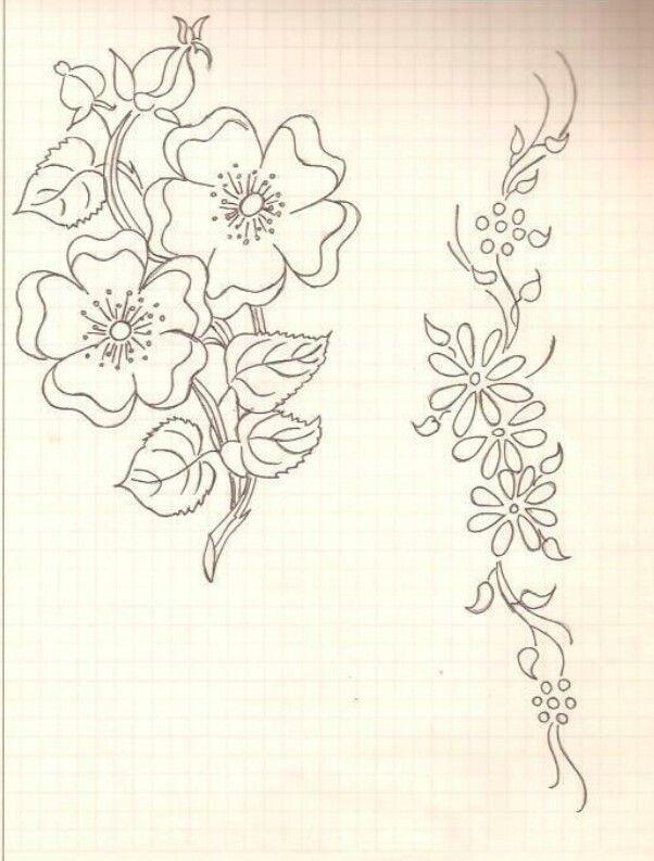 Pin de Janizeth Chong en diseño para sabanillas | Bordado, Dibujos ...