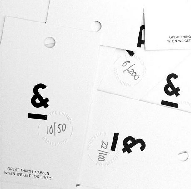 Atelier Cph Instagram label design