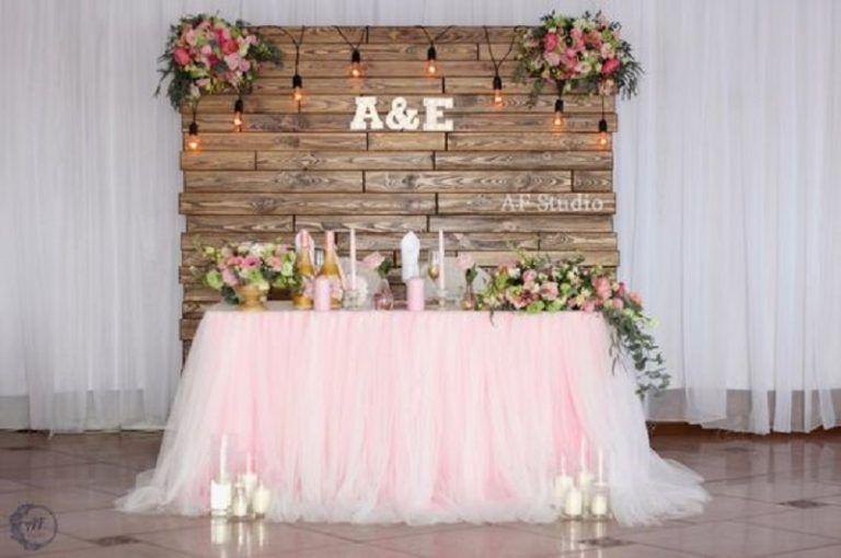 Diy Wedding Decoration Ideas That Would Make Your Big Day Magical Diy Wedding Backdrop Simple Wedding Decorations Head Table Wedding