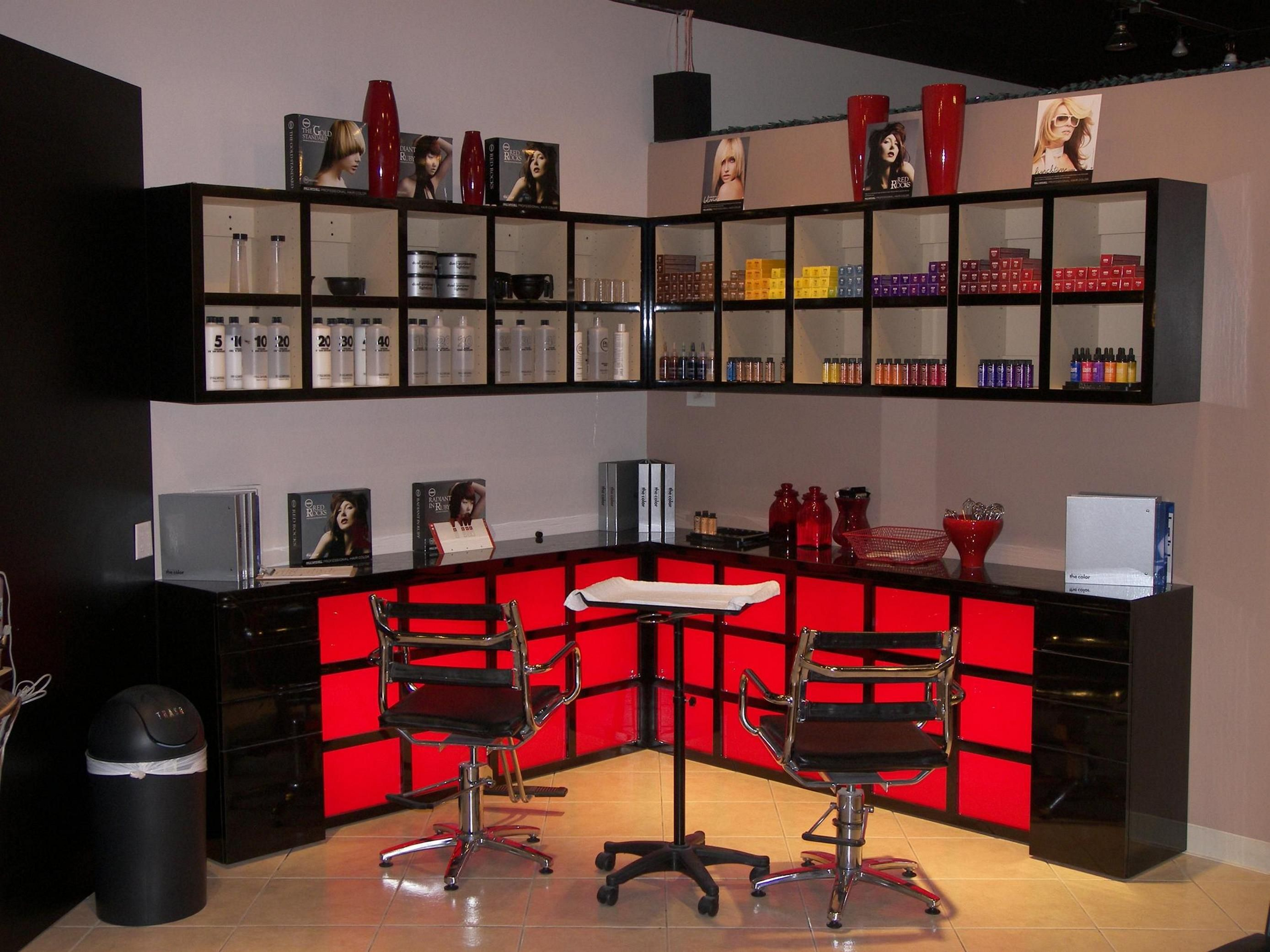 color bar ideas - Google Search | Salon ideas | Pinterest | Salon ...