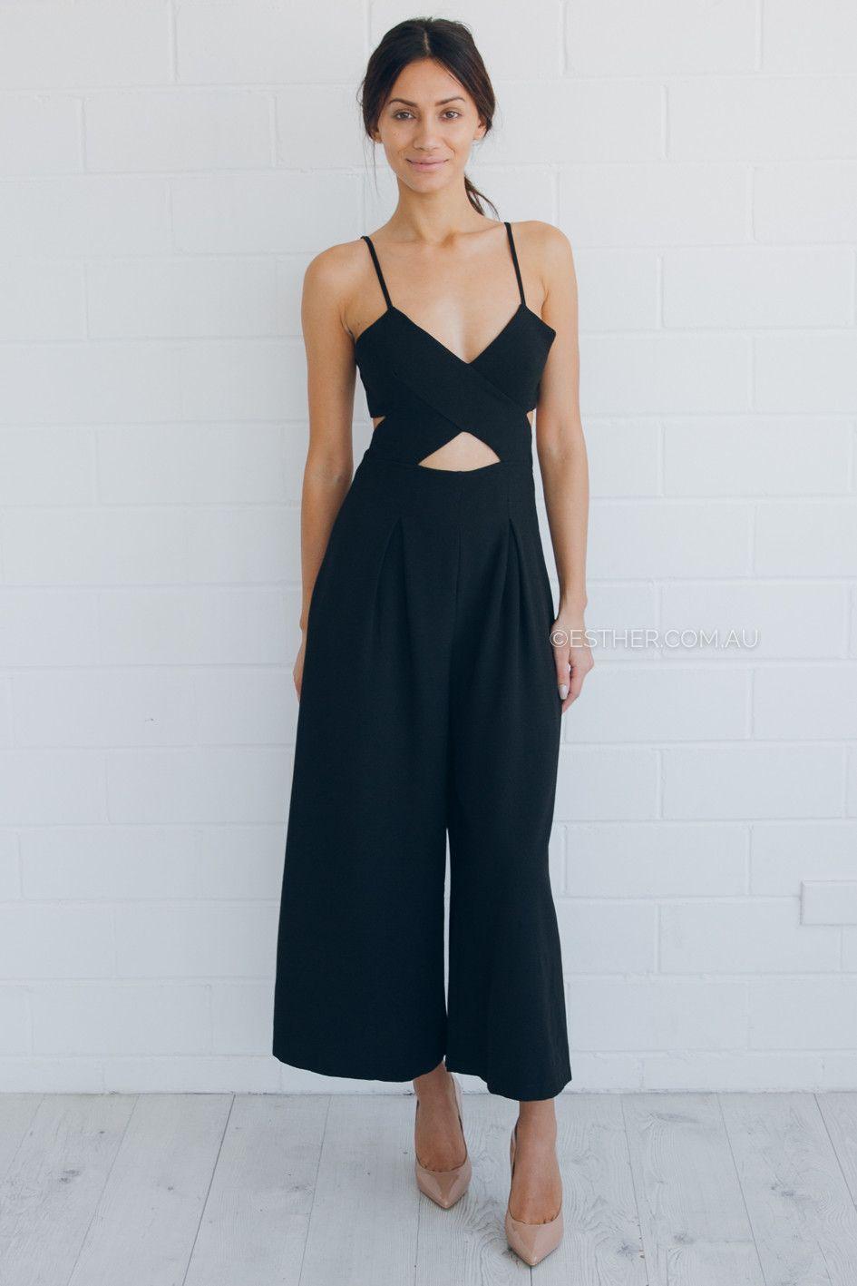zara jumpsuit - black | Women's fashion | Pinterest | Zara ...
