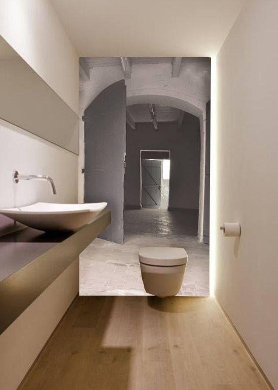 Carta da parati in bagno 5 motivi per installarla senza for Carta adesiva per piastrelle bagno