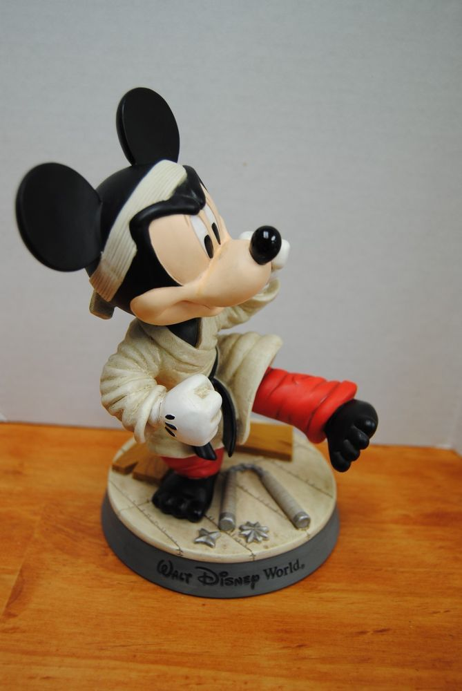Walt Disney World Mickey Mouse Karate Bobblehead   Collectibles and ...