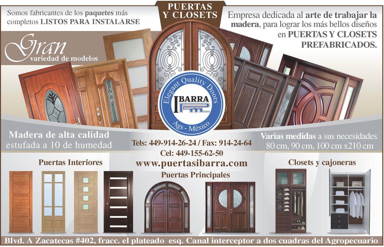 En Aguascalientes Puertas Ibarra Empresa Dedicada Al Arte De  # Muebles Excell Aguascalientes