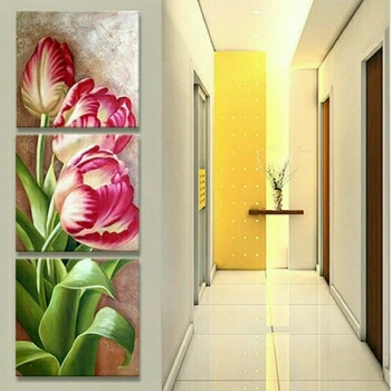 Secret Flowers 3 Piece Wall Art **WORLDWIDE SHIPPING AVAILABLE ...