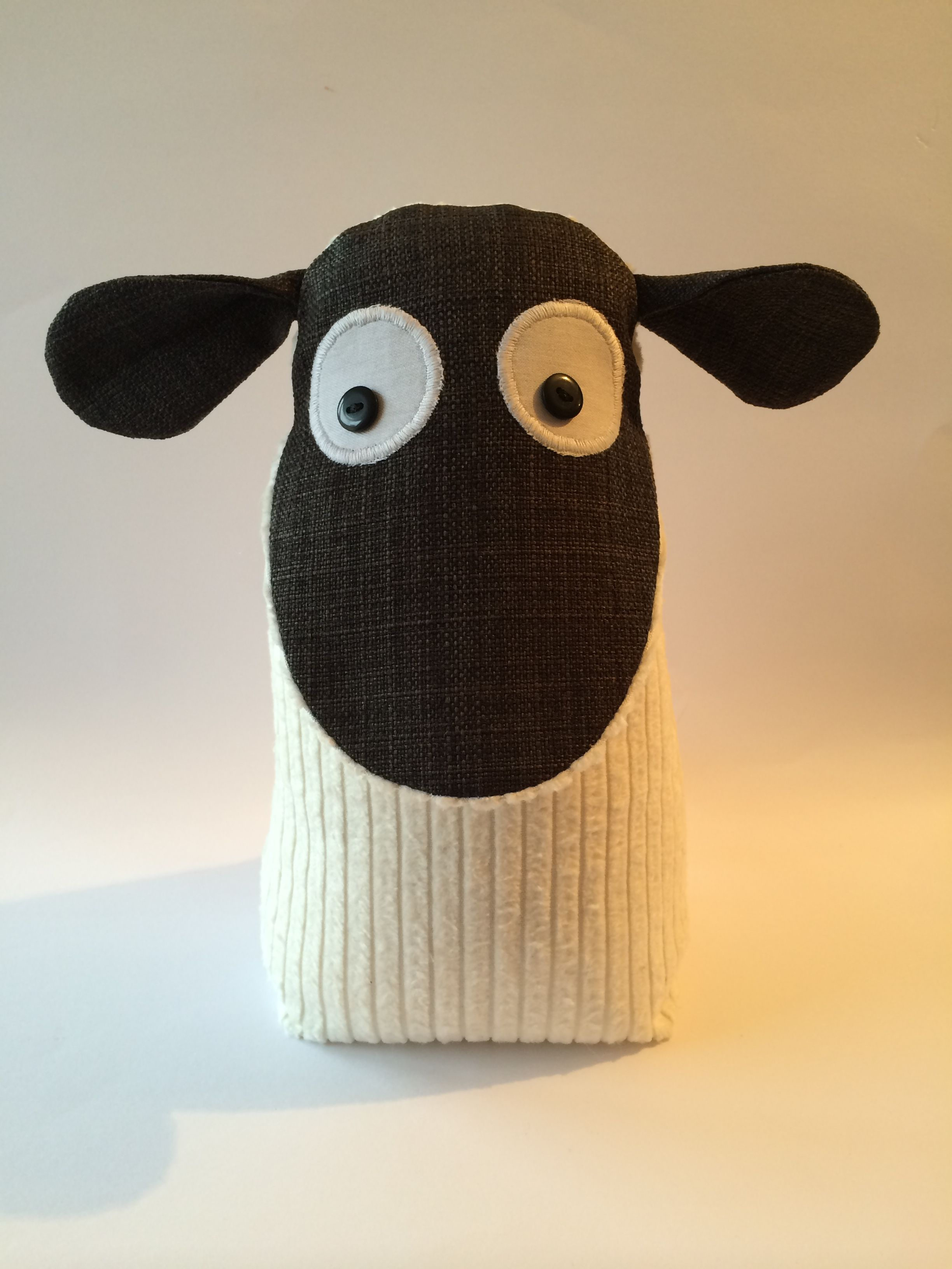 Sheep Door Stop. Take From Facebook Page A Bundle Of Crafts. Pop Over &