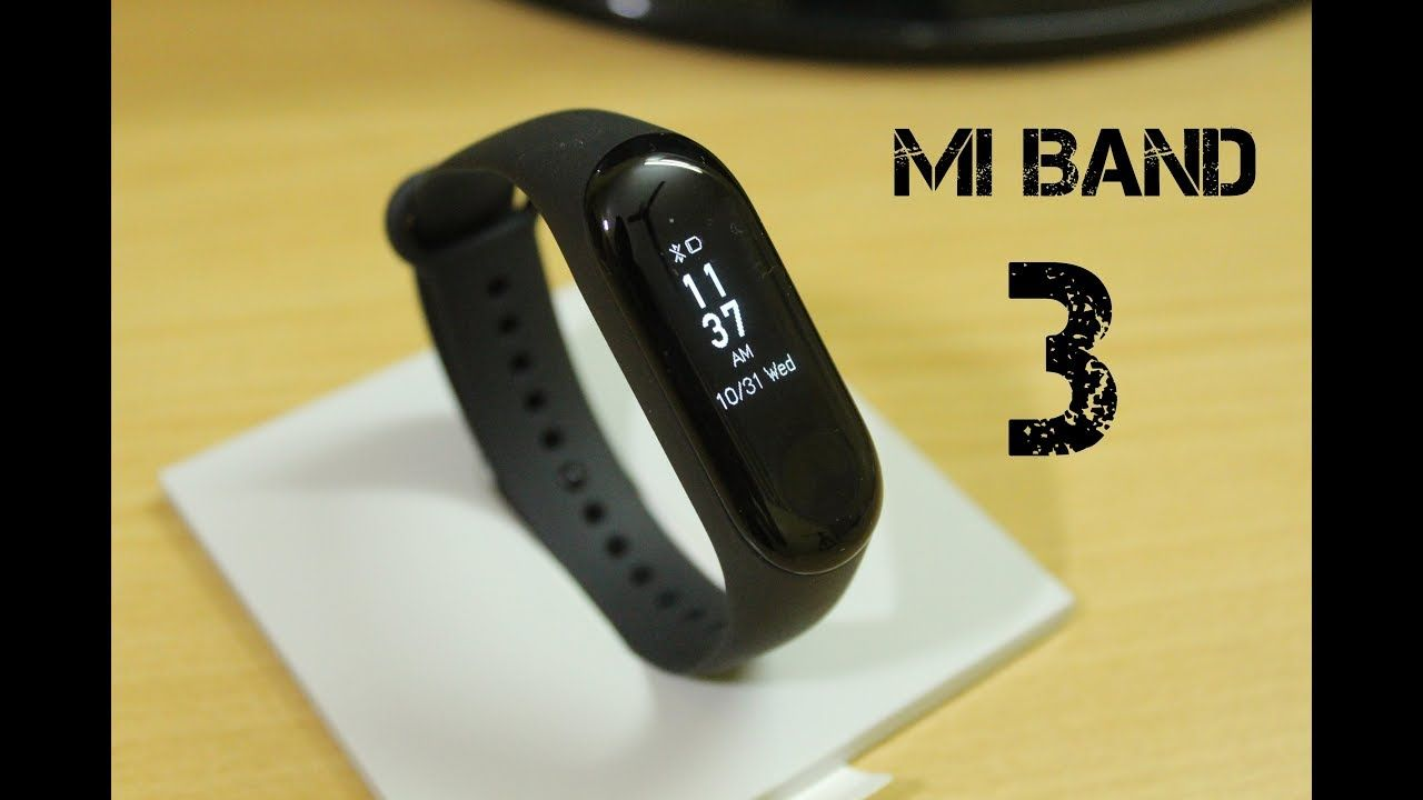 b7f39ff2a8c Smart Watch Xiaomi Mi Band 3 - Unboxing   Review