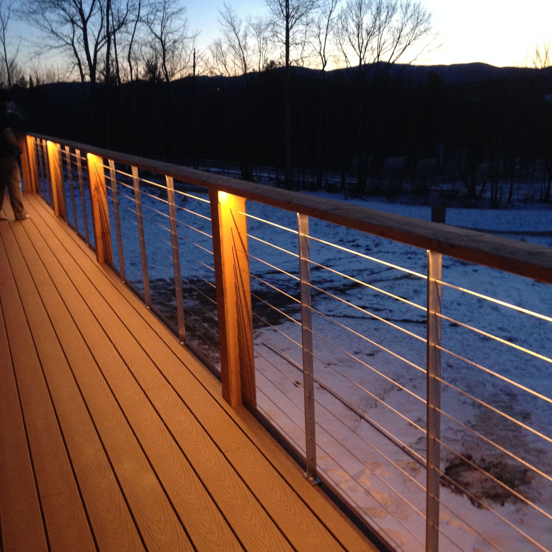 Backlit cable rail by Warrenpieces | Building design ...