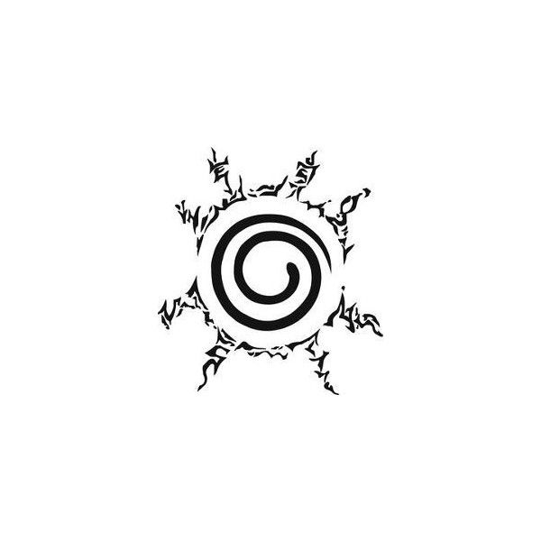 Eight Trigrams Sealing Style ❤ liked on Polyvore featuring naruto ...