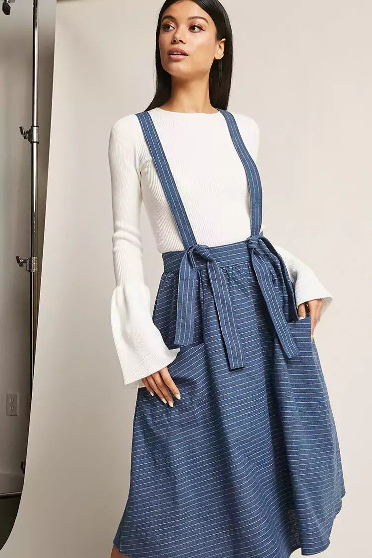 6c1ef74120 Product Name Pinstripe Overall Skirt