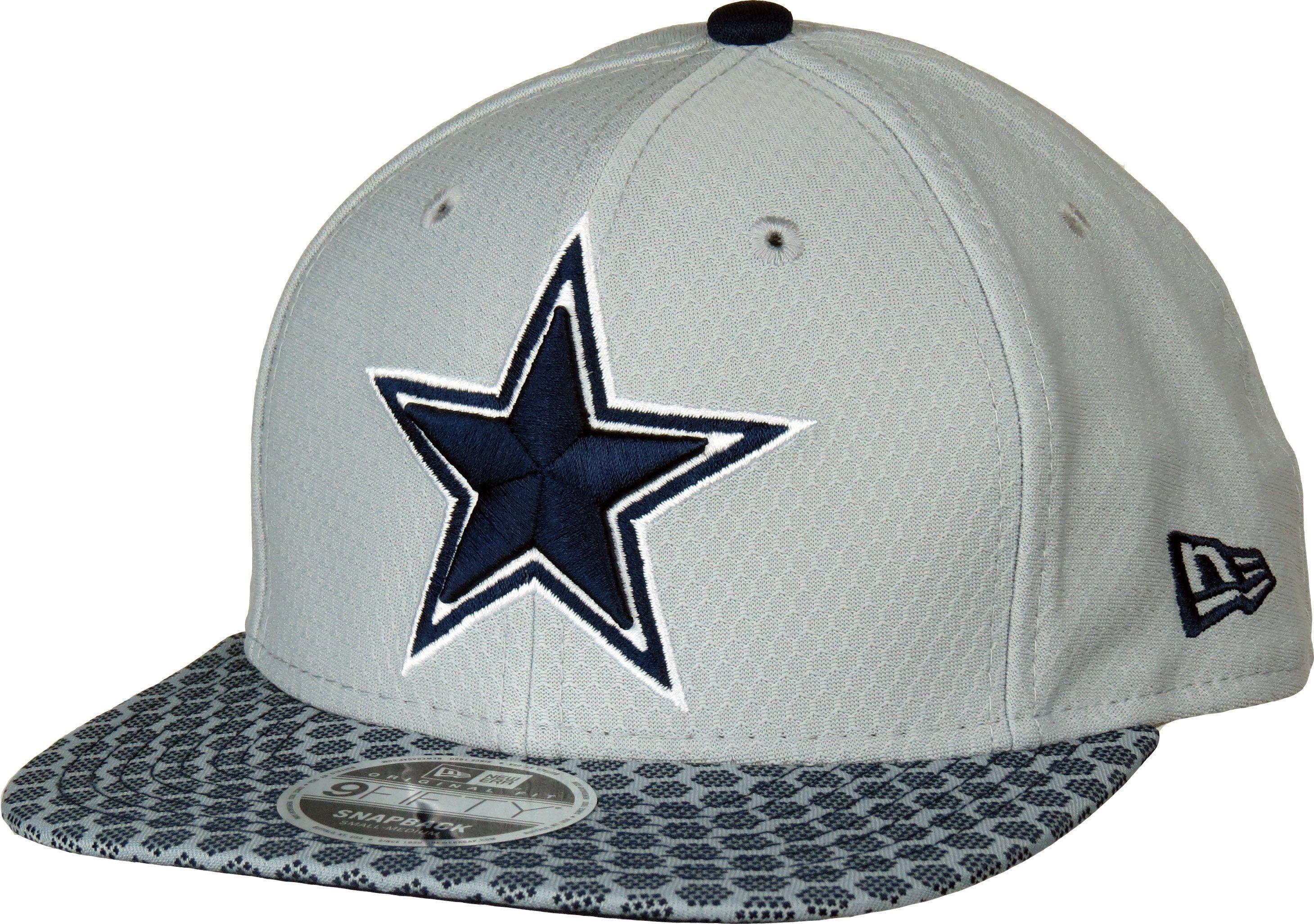 New Era 950 NFL Team On Field SL Snapback Cap. Grey performance fabric 3a751cb5c