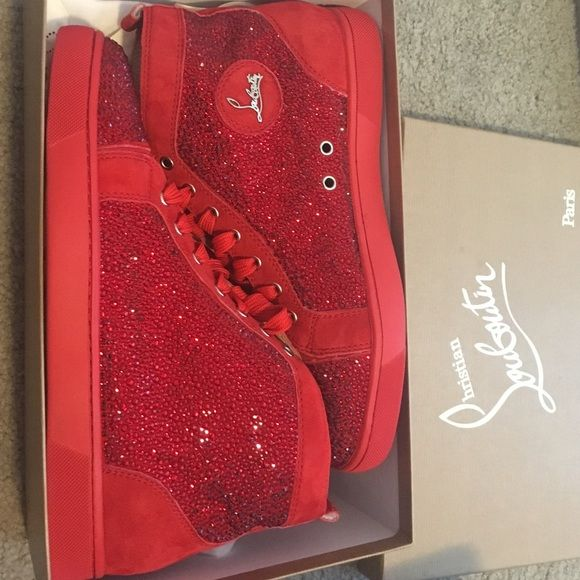 5d40fa51104 Christian louboutin style men's sneaker totally new and looks like ...