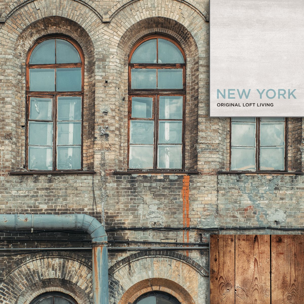 The Original Style Of The New York Loft Apartments Is At