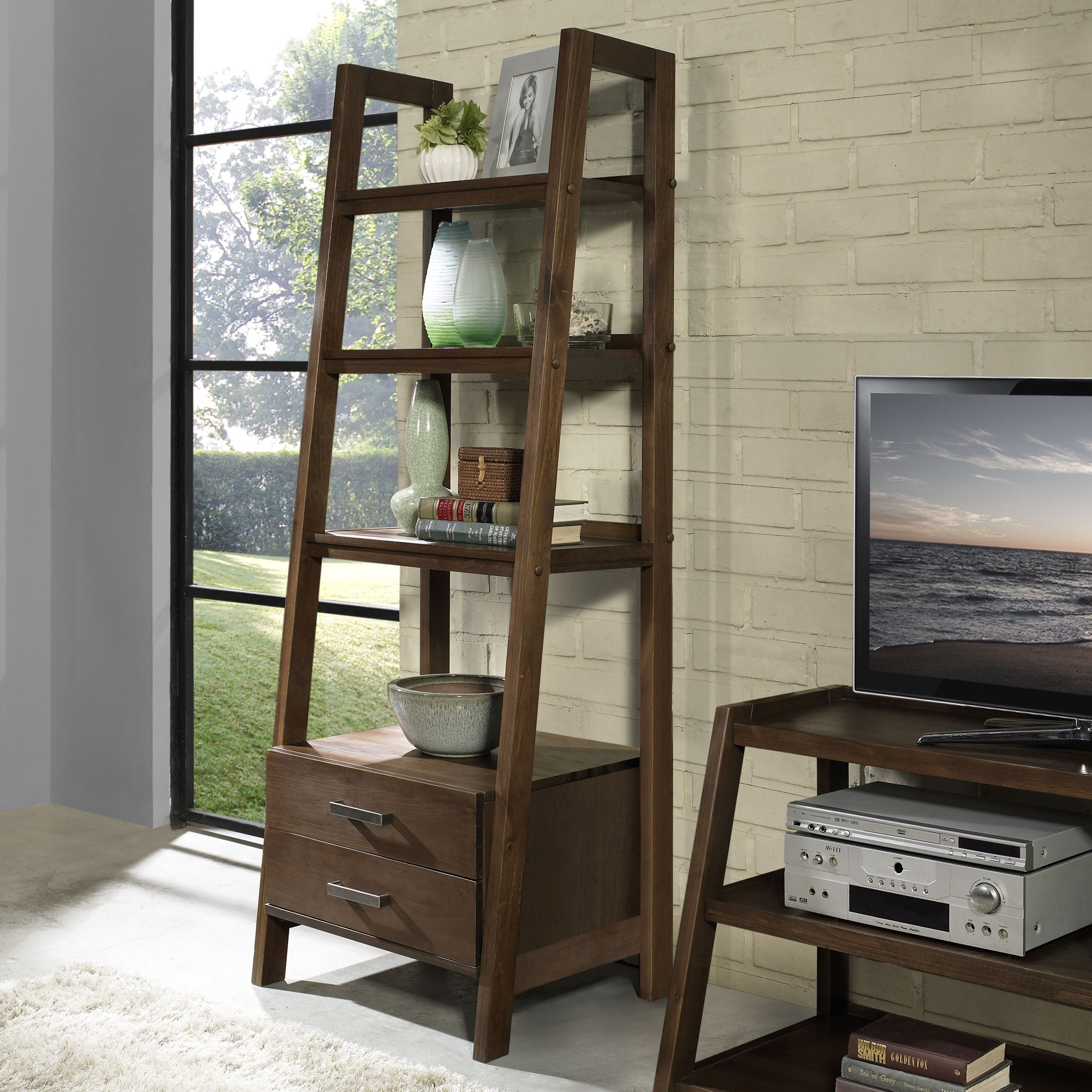 Pleasing The Hawkins Collection Has Two Different Types Of Ladder Beutiful Home Inspiration Semekurdistantinfo