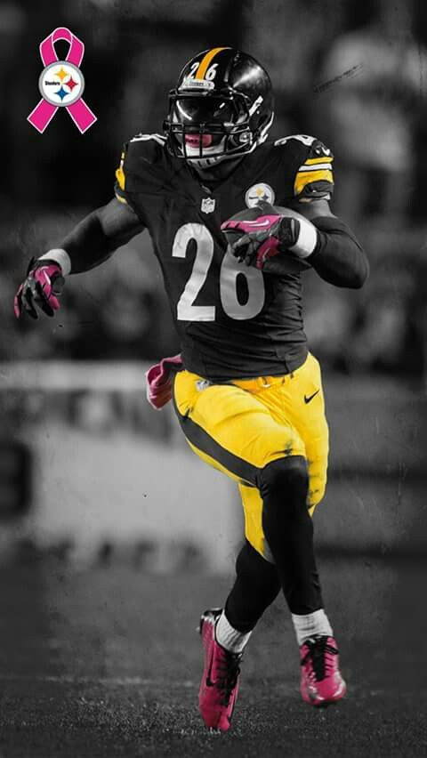 steelers uniforms leveon bell rb pinteres