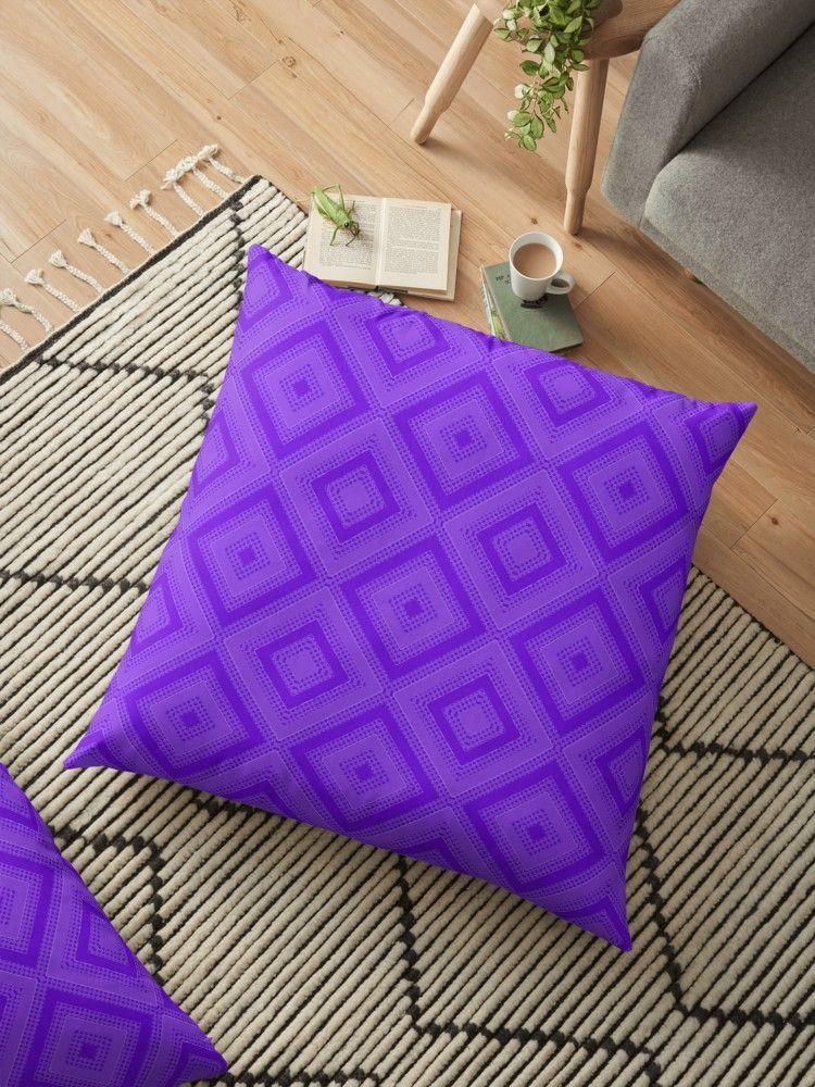 'PATTERNS 7' Floor Pillow by tartans Pattern, Buy