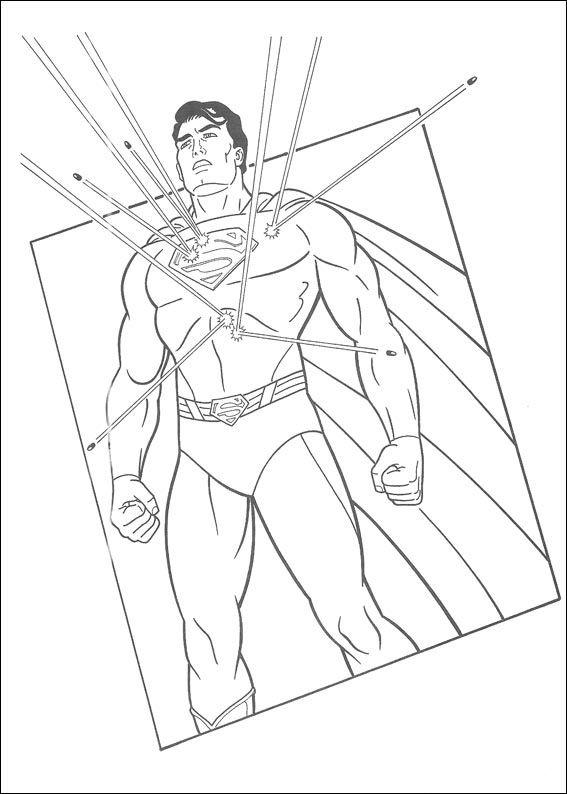 Dibujos para Colorear Superman 27 | Dibujos para colorear para niños ...