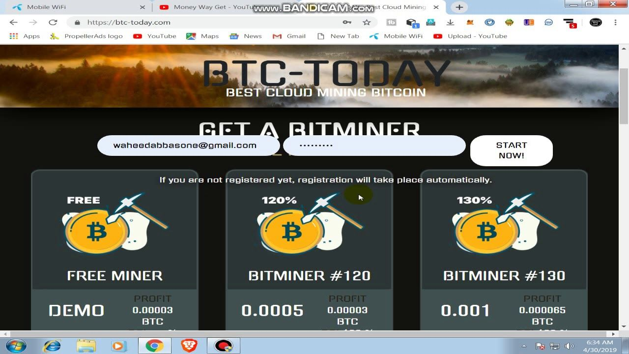 NEW FREE BITCOIN CLOUD MINING SITE BEST FREE MINING SITE