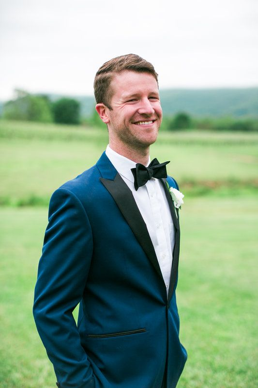 Groom Style with Bowtie   Veritas Vineyard Wedding   Photo By MB Photography, LLC